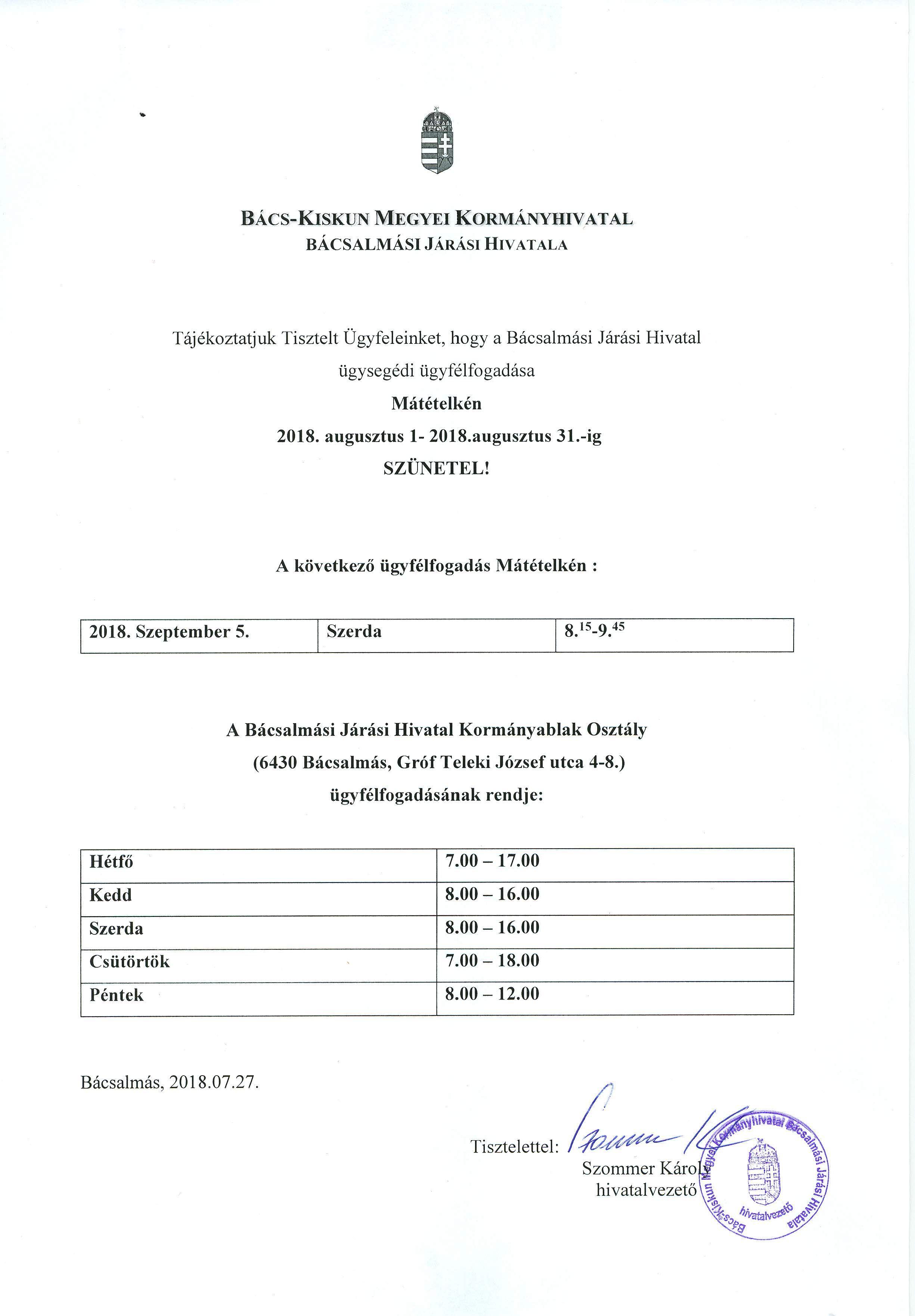 Mátételke - ügyfélfogadási szünet-page-001