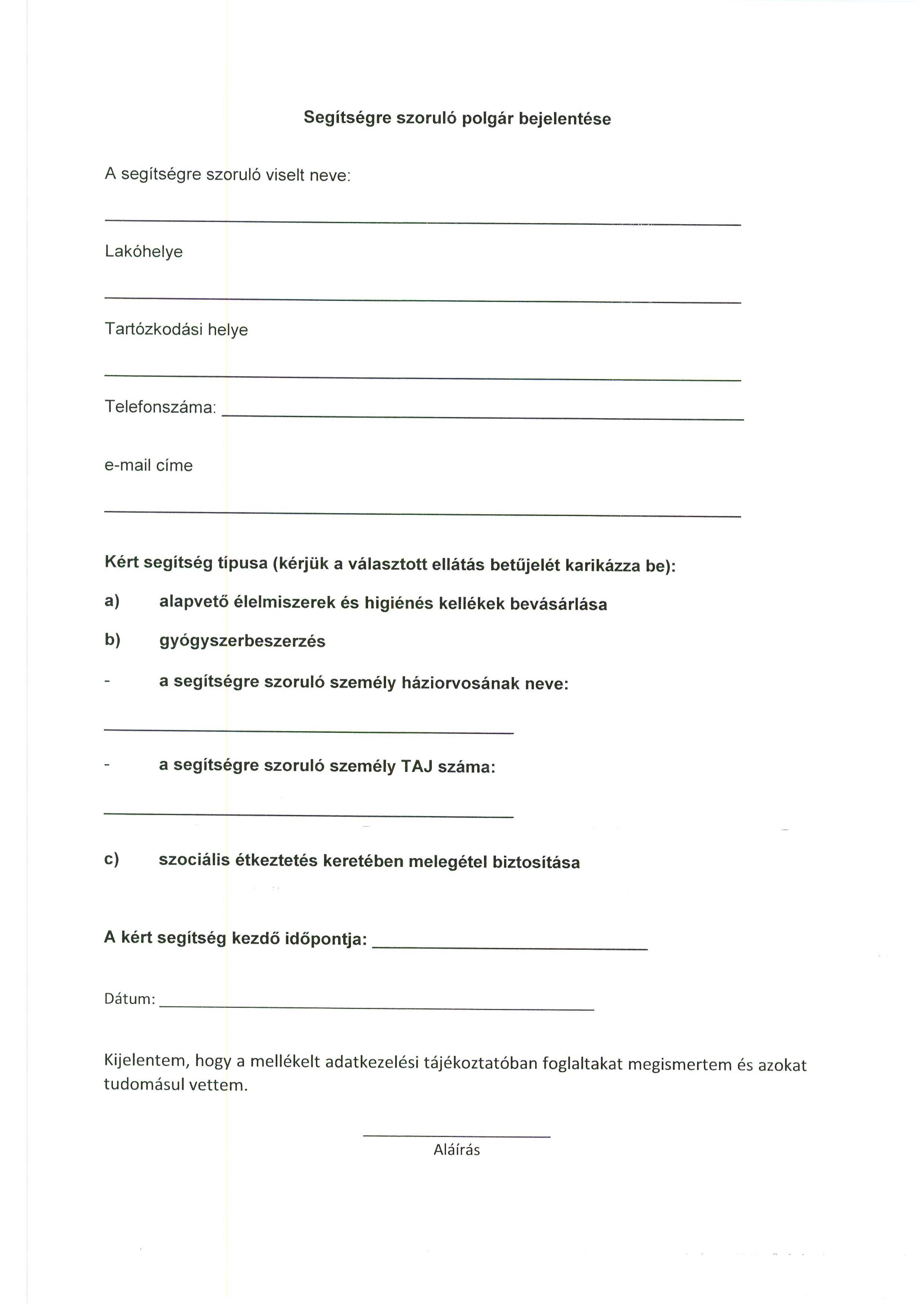 Tájékoztatás - Koronavírus járványra tekintettel.2