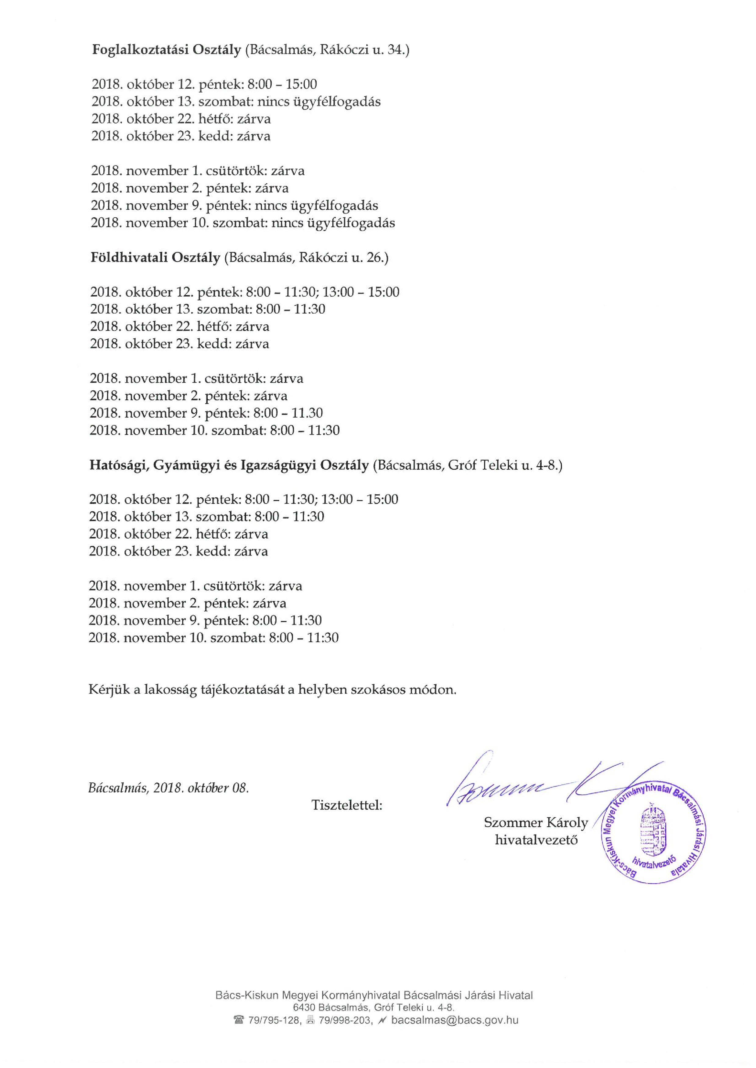 Tájékoztató áthelyezett munkanapok ügyfélfogadásával kapcs.-page-002