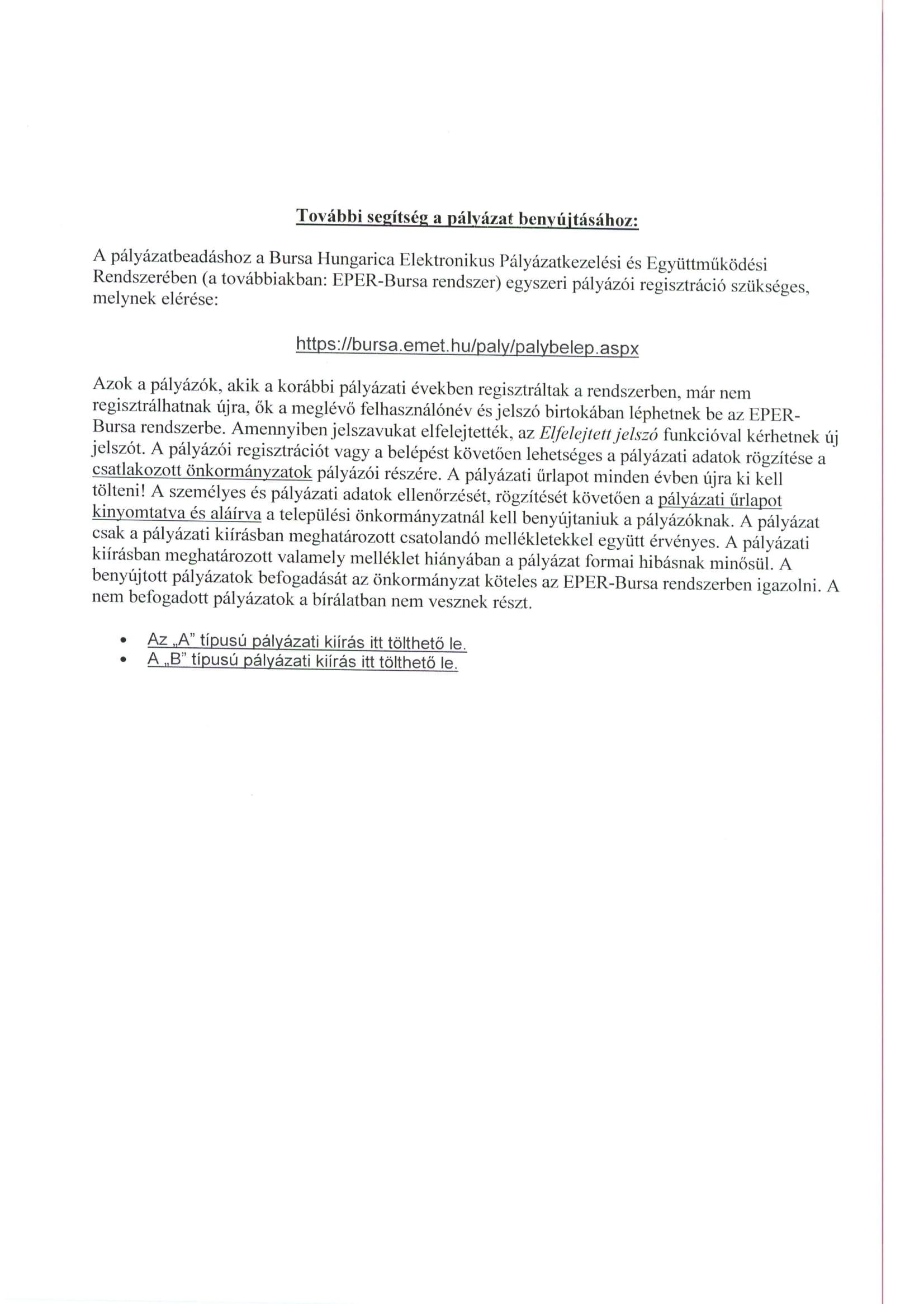 BURSA tájékoztató-2