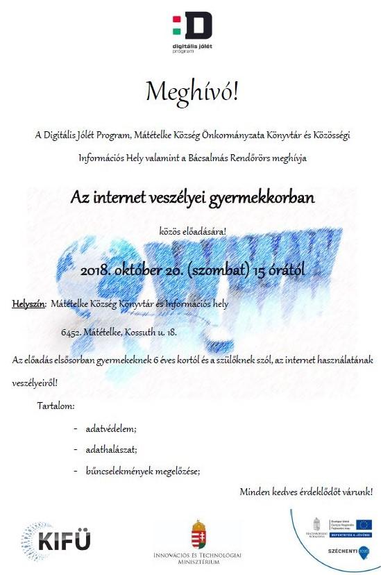 Meghívó az internetről