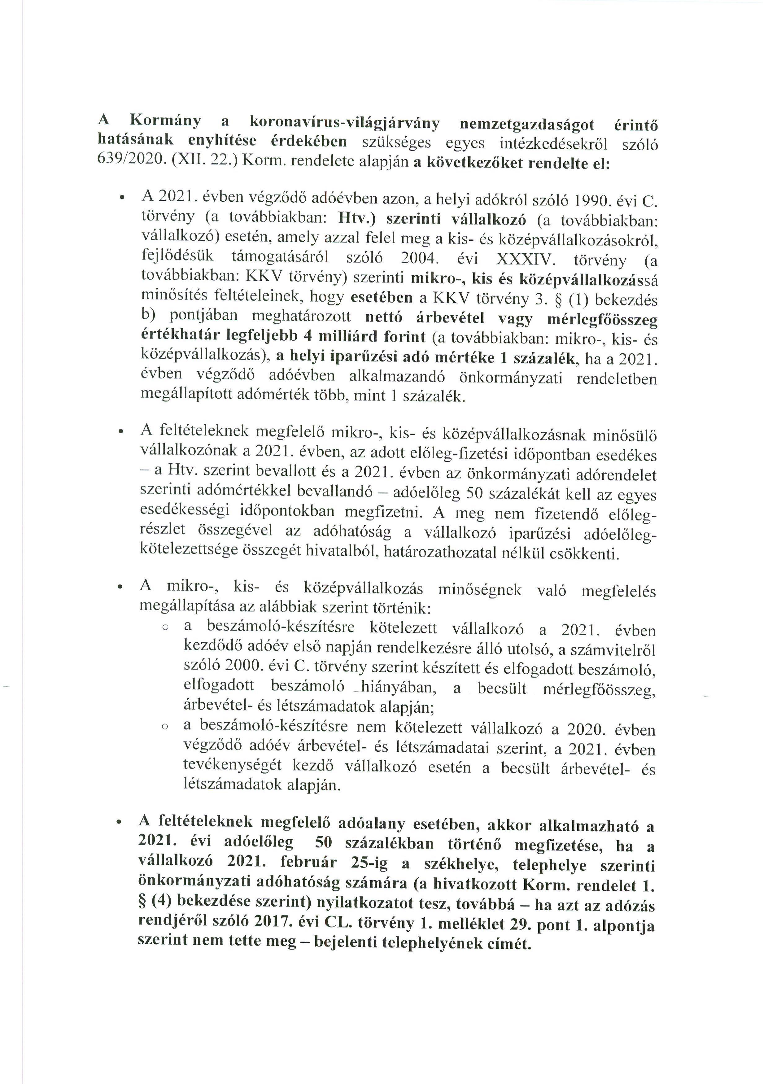 Tájékoztatás - HIPA.2
