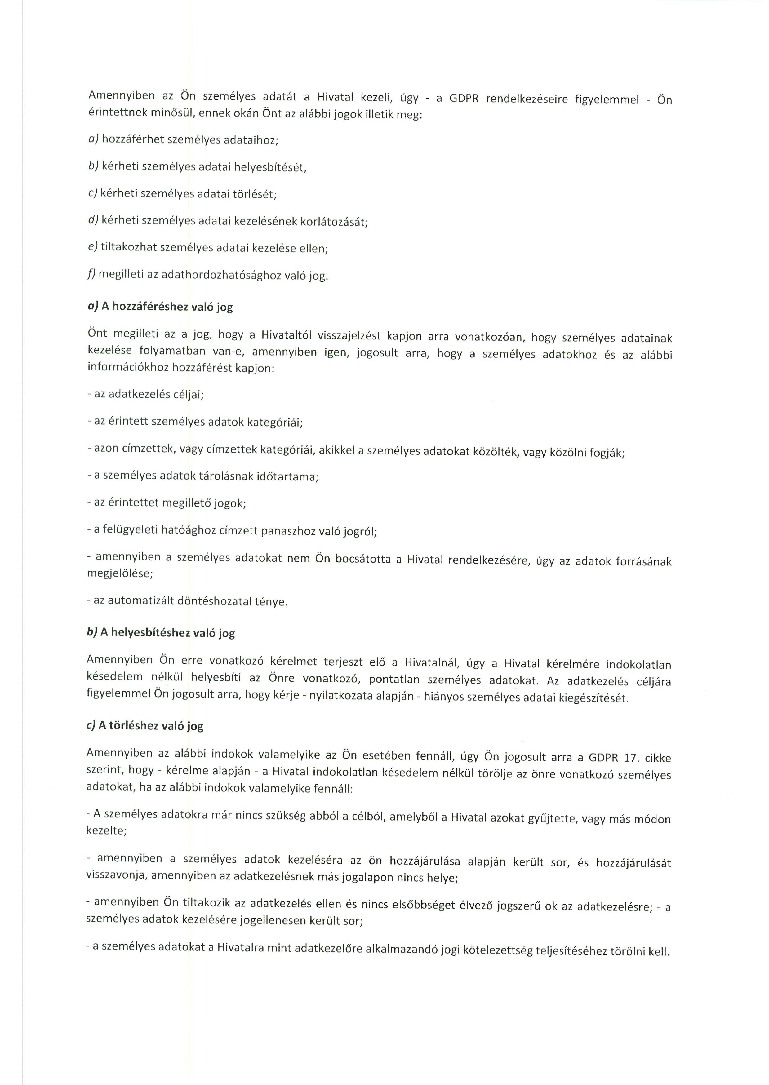 Tájékoztatás - Koronavírus járványra tekintettel.4